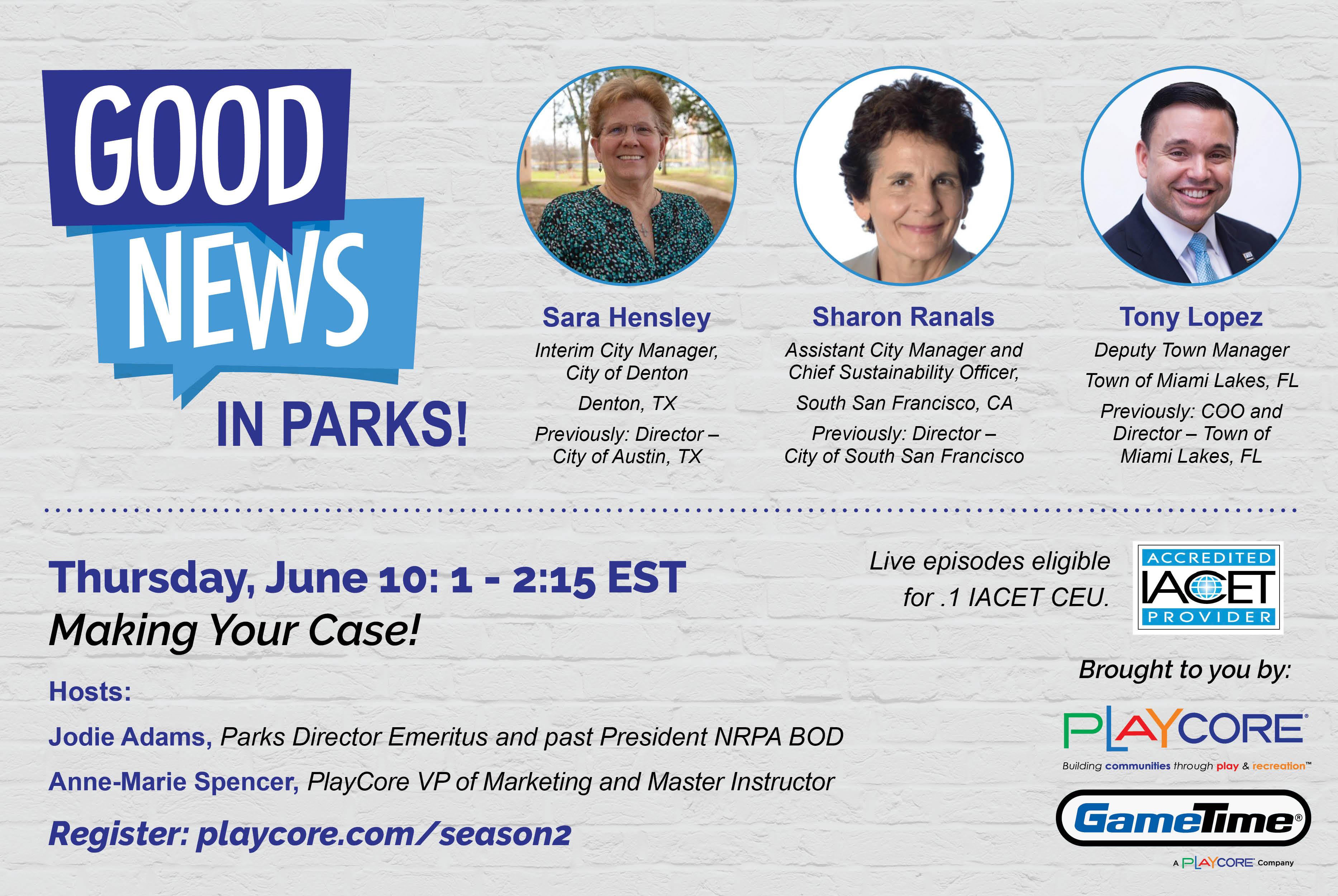 Good News in Parks - Season 2 - Banner Image - Episode 6