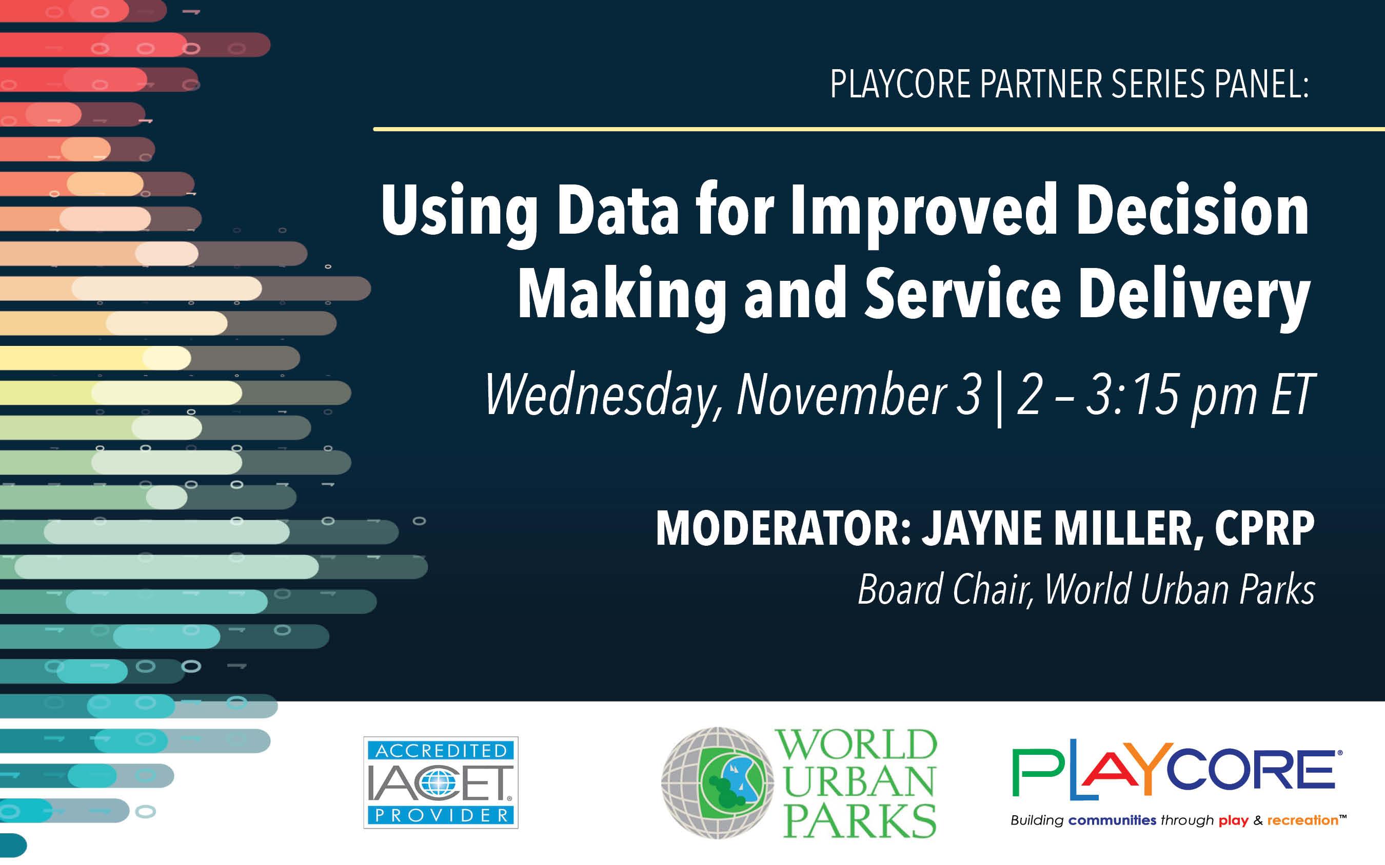 Using Data - Live - November 2021 - Banner Image